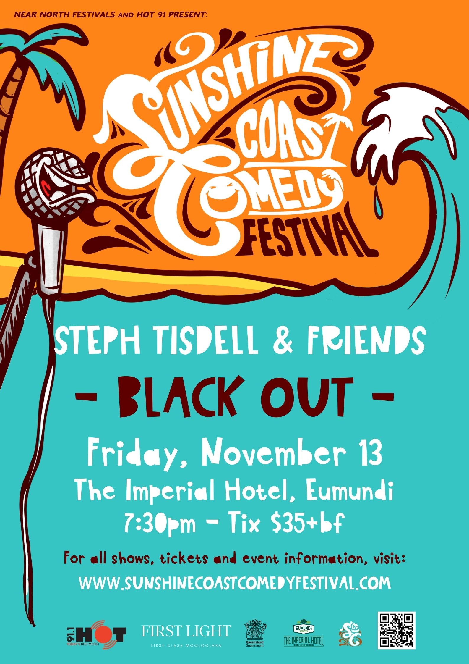 STEPH TISDELL & FRIENDS, 'Black Out'