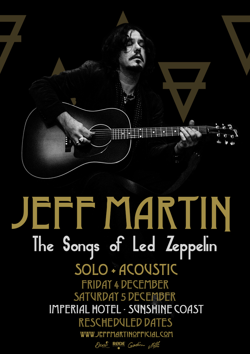 JEFF MARTIN plays 'The Songs of Led Zeppelin'